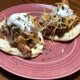 Homestead pulled pork tacos